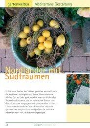 schön + grün - Nordländer mit Südträumen (2/2005 ... - bei wildigarten
