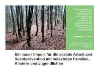 Therapeutische Wildnispädagogik 2012/13 (PDF) - Wildniswandern