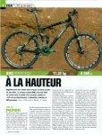 Lire le test du BMC Speedfox - Wanner Cycles, Orbe - Page 2