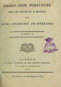 Observador portuguez : obra de erudio, e recreio por huma ... - Page 7