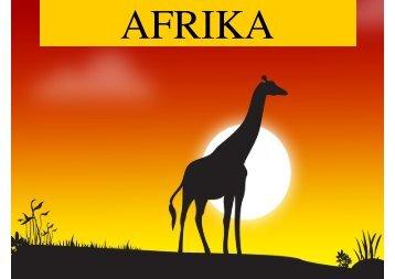 Afrika-Projekt Teil 1 (pdf, 6MB) - in Wilhelmsfeld!