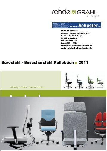 Rohde Grahl Bürostühle Classic Bedienungsanleitung