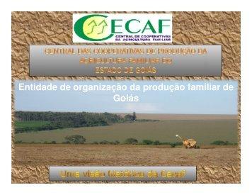 Breve histórico do cooperativismo Em Goiás