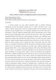 Gênero e Ciência - Fazendo Gênero 10 - UFSC