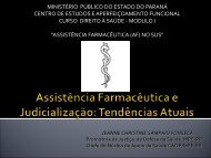 download material da apresentação - Centro de Estudos e ...