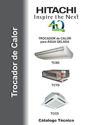ihcat-tcdsc001 - Hitachi Ar Condicionado do Brasil