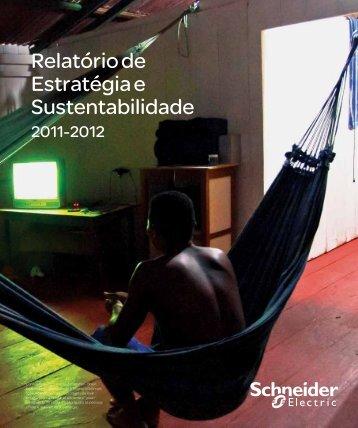 Relatório de Estratégia e Sustentabilidade Brasil - Schneider Electric