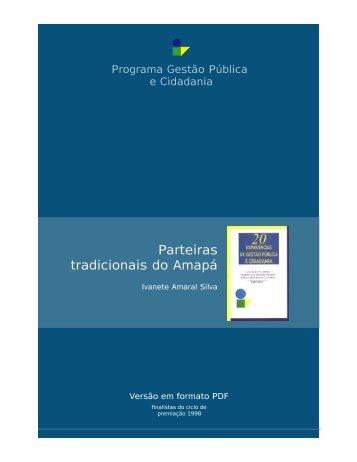 Parteiras tradicionais do Amapá - FGV-Eaesp - Fundação Getulio ...