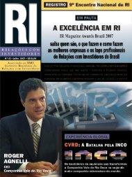 2 • Revista RI • julho 2007