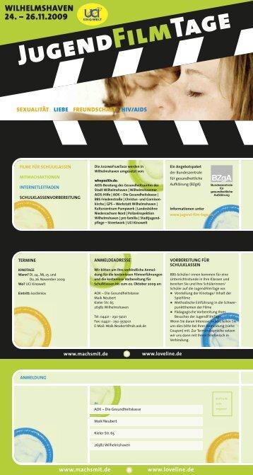 Jugend Film Tage - Stadt Wilhelmshaven