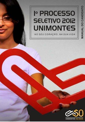 Manual do Candidato - Cotec - Unimontes