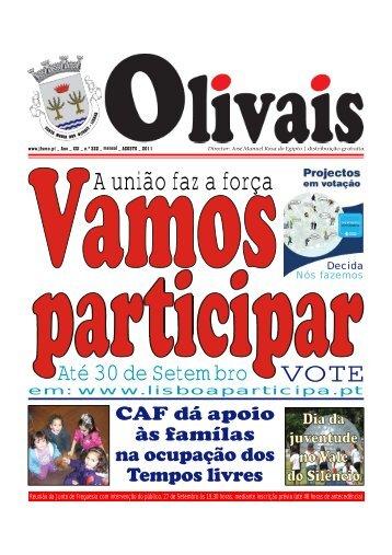 A união faz a força - Junta de Freguesia dos Olivais
