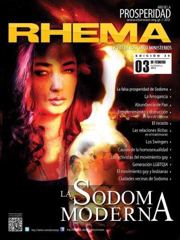 Revista Rhema Febrero 2013 - Radio Bethel