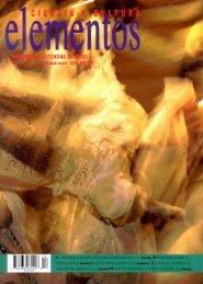 Número completo (3.16 Mb) - Revista Elementos