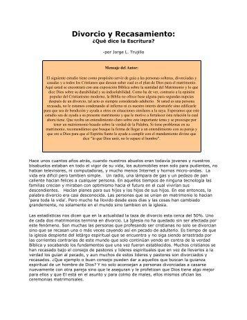 Divorcio y Recasamiento.pdf - Murosdefuego.net