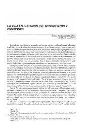 LA VIDA EN LOS OJOS (IV): MOVIMIENTOS Y FUNCIONES - Helvia