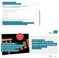 kompakt infotag des wilken rechenzentrums - Wilken GmbH