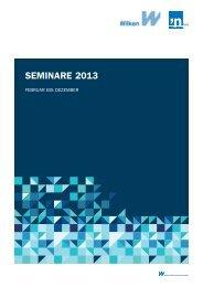 Seminarplan - Wilken GmbH