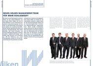 Lesen Sie mehr... - Wilken GmbH
