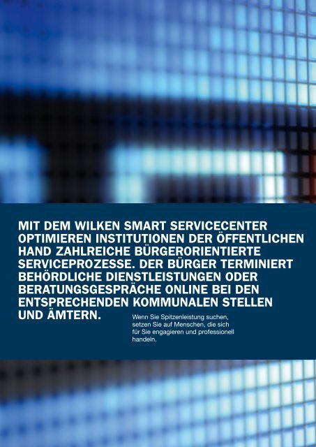 WILKEN SMART SERVICECENTER - Wilken GmbH