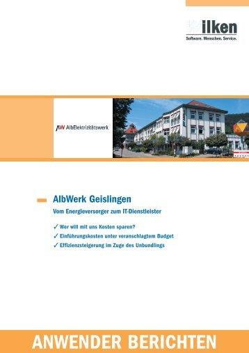 AlbWerk Geislingen - Wilken GmbH