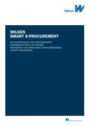 Wilken SMART e-PROCUReMenT - Wilken GmbH
