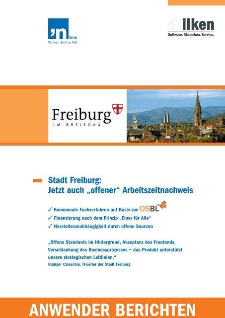 Stadt Freiburg - Wilken GmbH