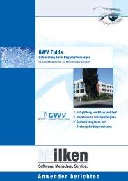 Anwenderbericht GWV Fulda - Wilken GmbH