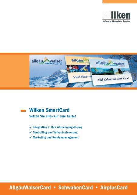Anwenderbericht Allgäu-Walser-Card - Wilken GmbH