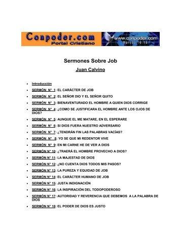 Calvino - Sermones Sobre Job.pdf - Quechuas