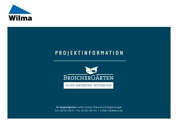 PROJEKTINFORMATION - Wilma wohnen Rheinland