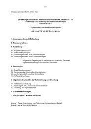 Verrentungs- und Stundungsrichtlinie