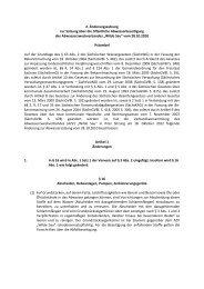 Abwassersatzung 2. Änderungssatzung