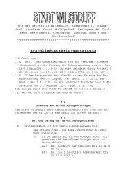Erschließungsbeitragssatzung - Stadt Wilsdruff
