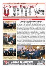 Ausgabe März 2009 - Stadt Wilsdruff