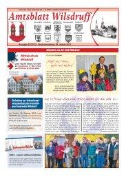 Amtsblatt Wilsdruff - Stadt Wilsdruff