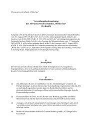 Verwaltungskostensatzung des AZV Wilde Sau i.d.F.v. 23.09.2010