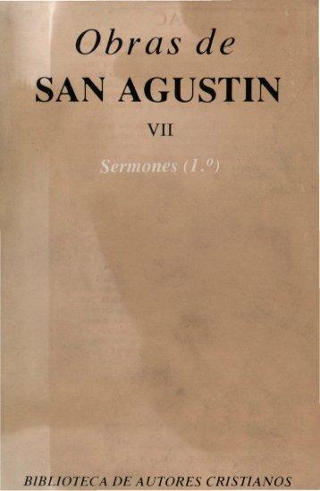Obras de SAN AGUSTÍN - 10