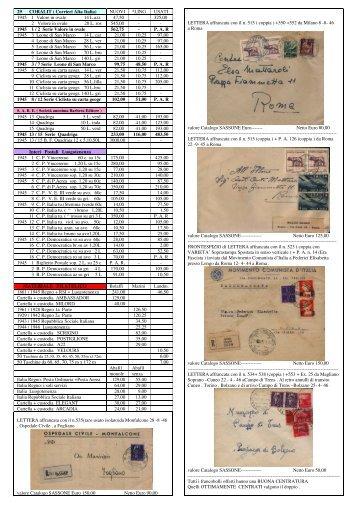 29 - Regno Luogotenenza (Coralit - I. P. Mater. Filatelico)