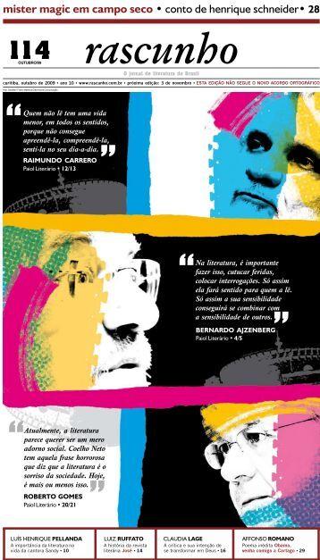 Edição 114 - Jornal Rascunho - Gazeta do Povo