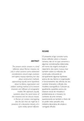 Opera Musiua - Instituto de História da Arte