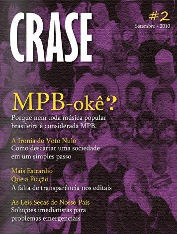 MPB-okê? - Revista Crase
