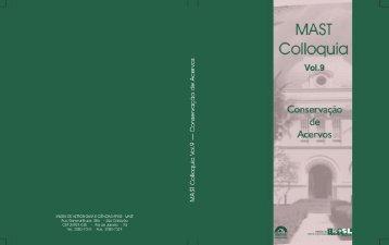 MAST Colloquia 9 - Museu de Astronomia e Ciências Afins