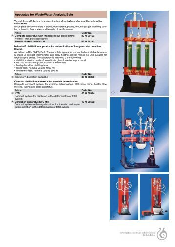 Laboratory Catalogue, 14th edition - Windaus