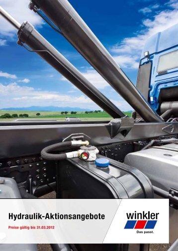 Hydraulik-Aktionsangebote - Winkler