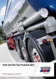 Tank und Silo Top-Produkte 2011 - Winkler