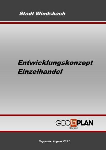 Entwicklungskonzept Einzelhandel - Stadt Windsbach
