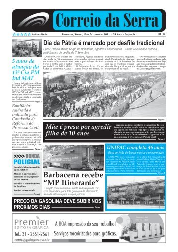 Número 641.pmd - Jornal Correio da Serra