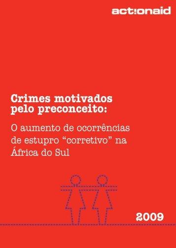 Crimes motivados pelo preconceito: 2009