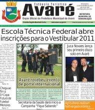 Escola Técnica Federal abre inscrições para o Vestibular 2011